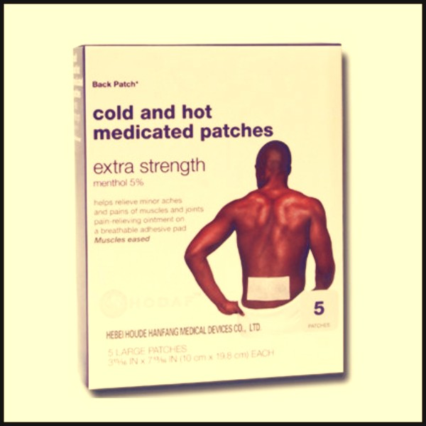 1.Cold and hot medicated patch (big size) (1)