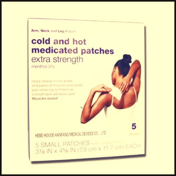 1.Cold and hot medicated patch (big size) (2)