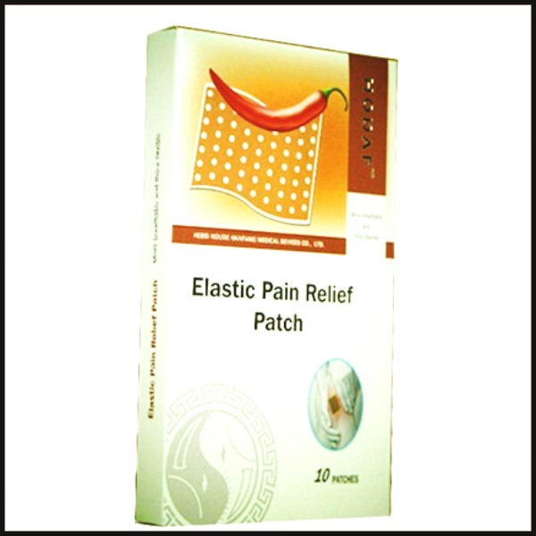Capsicum plaster for pain relief