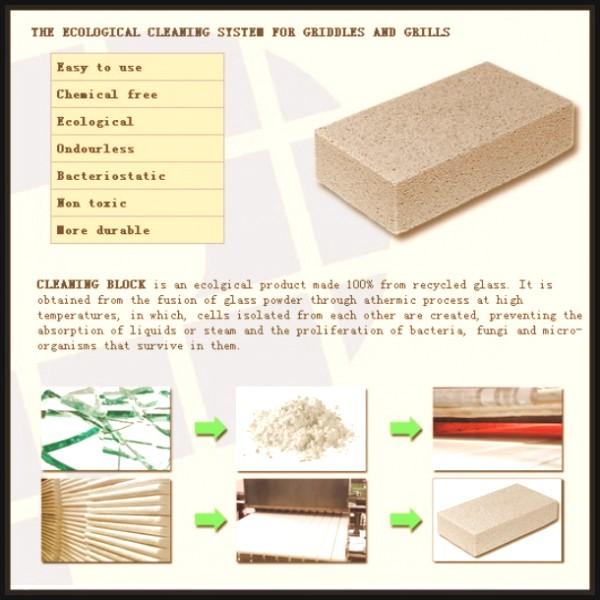 grill stone, grill brick (25)