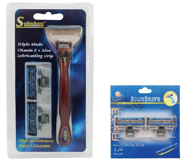f715 Packing system razor
