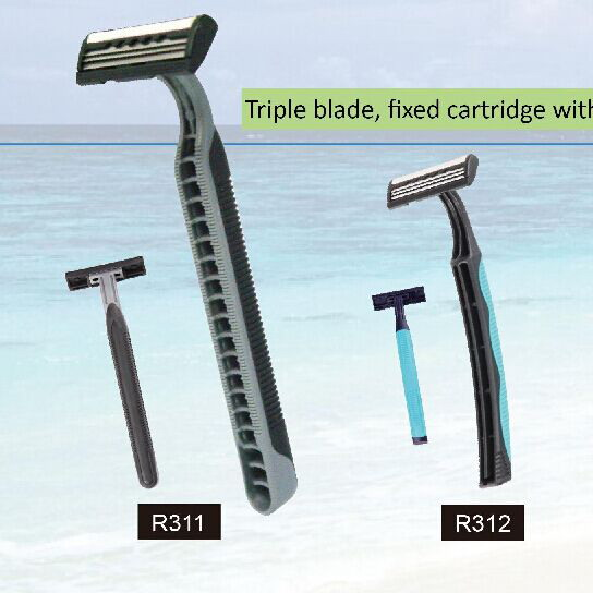 R311-R312 triple blade razor