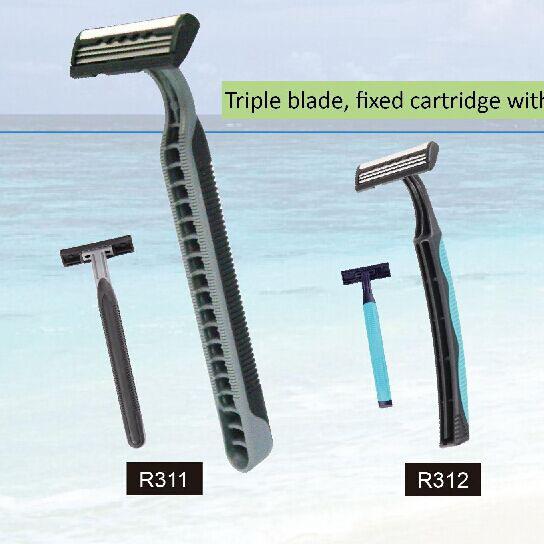 triple blade razor (3)