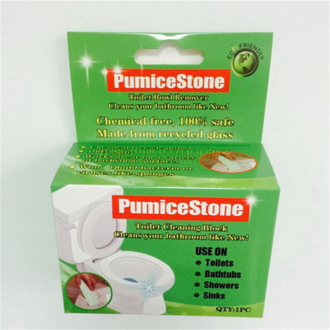 Multi Purpose Pumice Stone Cleaning Stick With Handle For