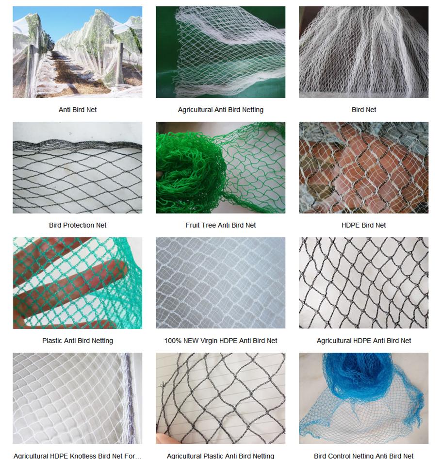 Shade netting Ground cover Fishing Net Anti-bird Net Anti-insect Net